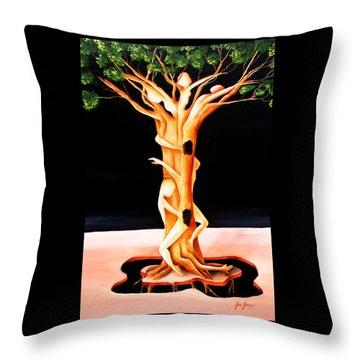 Live Nature Throw Pillow