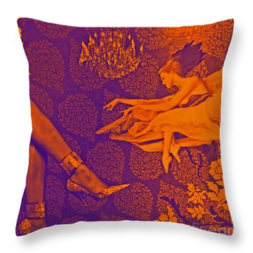 Live Performance Throw Pillow