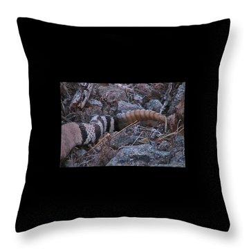 Live Rattles Throw Pillow
