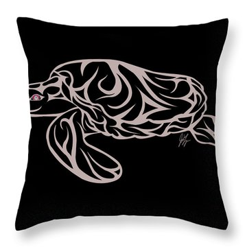 Live Waters Throw Pillow