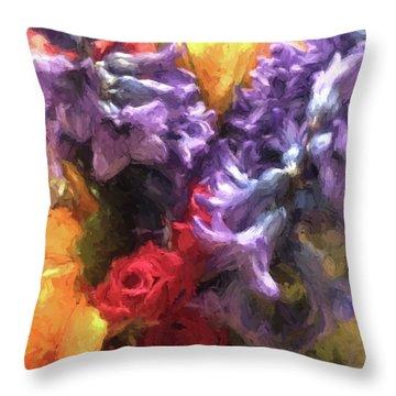 Living Color Throw Pillow