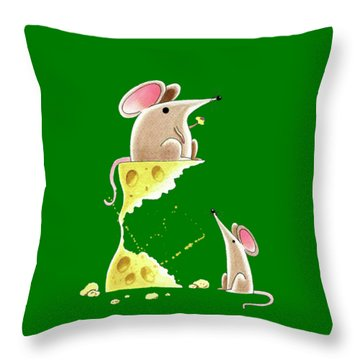 Living Dangerously  Throw Pillow by Andrew Hitchen