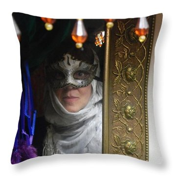 Living In New Orleans Throw Pillow