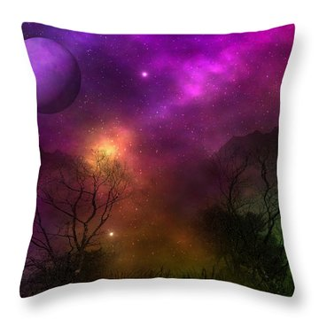 Living In Oz Throw Pillow by Bernd Hau