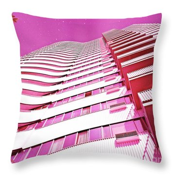 Living Pink Throw Pillow