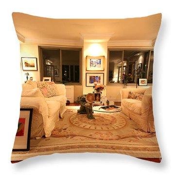 Living Room IIi Throw Pillow by Madeline Ellis