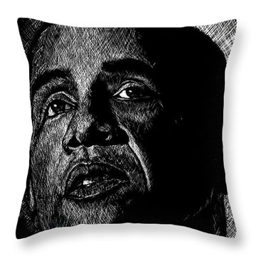 Living The Dream Throw Pillow by Maria Arango