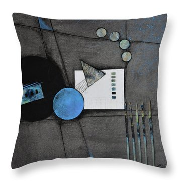 Living The Width Of Life Throw Pillow