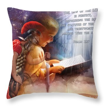 Living Word Throw Pillow