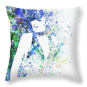 Liza Minnelli Cabaret Throw Pillow by Naxart Studio