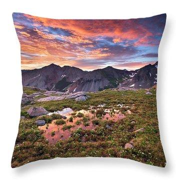 Lizard Head Wilderness Throw Pillow