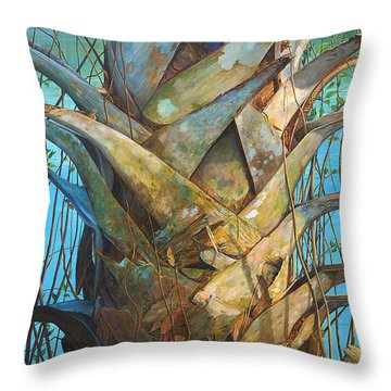 Lizards And Boots Throw Pillow