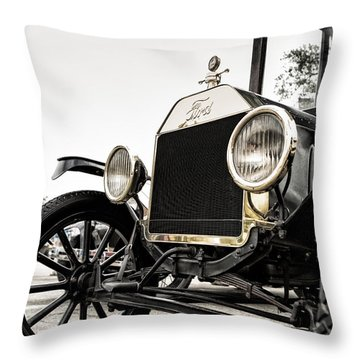 Lizzy Throw Pillow by Caitlyn  Grasso