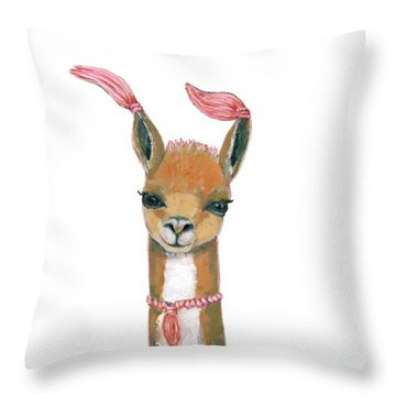 Llama Throw Pillows