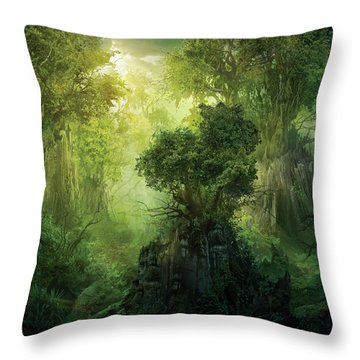 Outdoors Throw Pillows
