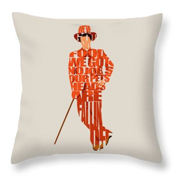 Lloyd Christmas Throw Pillow