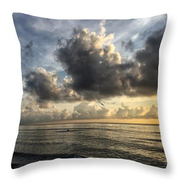 Loan Pelican Throw Pillow