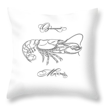 Ogunquit Maine Throw Pillow