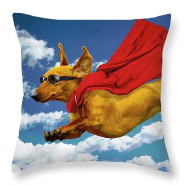 Local Hero Throw Pillow