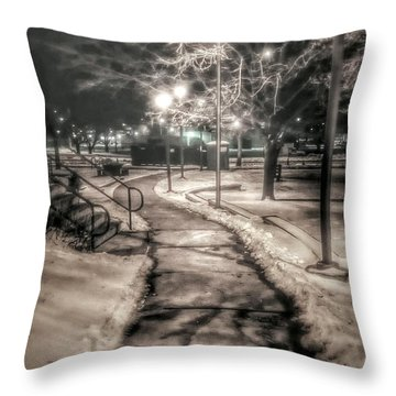 Local Library Throw Pillow by Dustin Soph