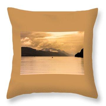 Loch 1 Throw Pillow
