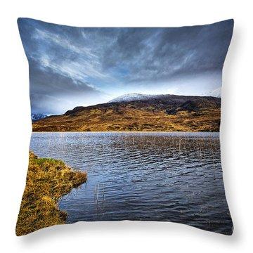 Loch Cill Chrisiod Throw Pillow