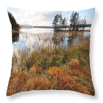Loch Garten Throw Pillow