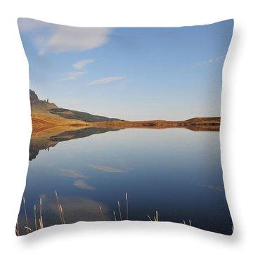 Loch Throw Pillows