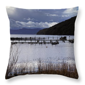 Throw Pillow featuring the photograph Loch Lomond by Jeremy Lavender Photography
