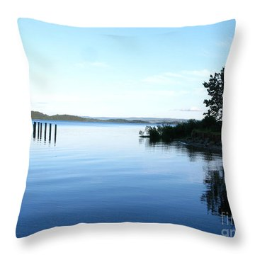 Loch Lomond Throw Pillow by Mini Arora