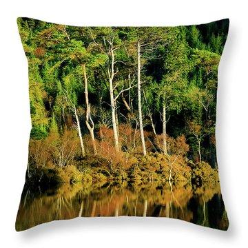 Loch Lundie Throw Pillow