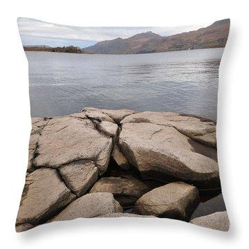 Loch Maree Throw Pillow
