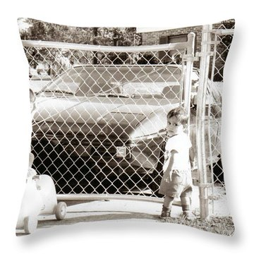 Lock Down..... Throw Pillow