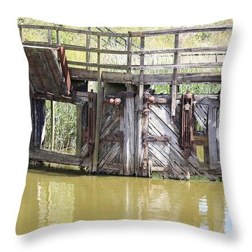Lock Throw Pillow