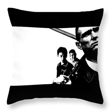 Lock, Stock And Two Smoking Barrels Throw Pillow