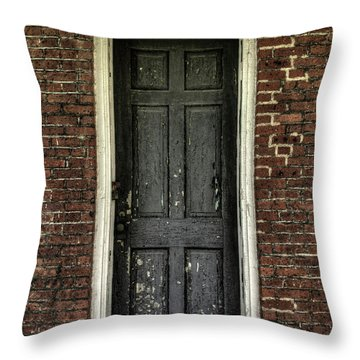 Locked Forever Throw Pillow by Zawhaus Photography