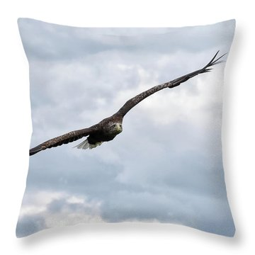 Locked On Throw Pillow