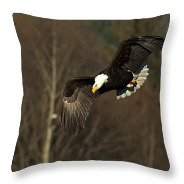 Locked On Target Throw Pillow