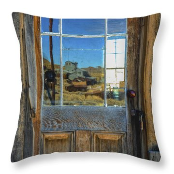 Locked Up Memories Throw Pillow by Mitch Shindelbower