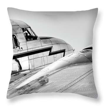 Lockheed Electra 12 Throw Pillow
