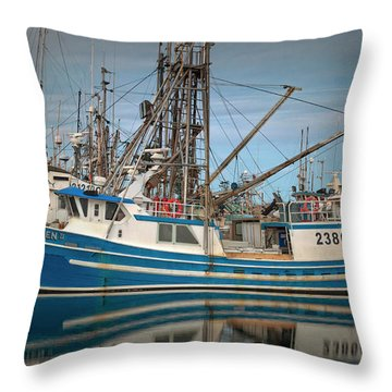 Throw Pillow featuring the photograph Lofoten 2 by Randy Hall