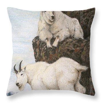 Lofty Perch Throw Pillow