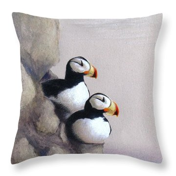 Lofty View Throw Pillow