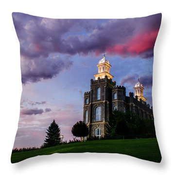 Logan Temple Heaven's Light Throw Pillow