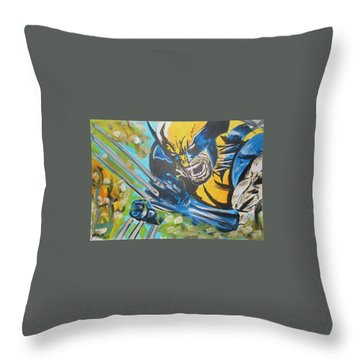 Logan Time Throw Pillow