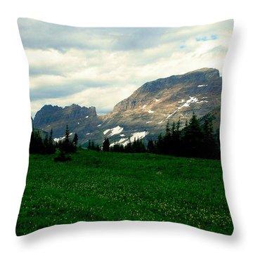 Logan's Pass Throw Pillow