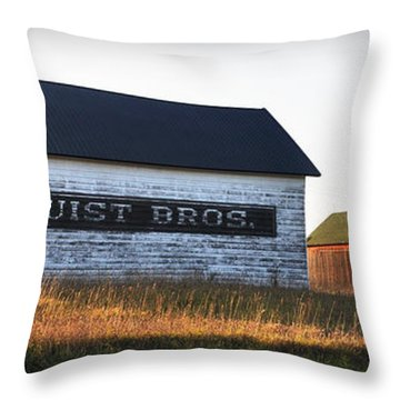 Logerquist Bros. Throw Pillow