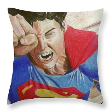 Lois' Death Throw Pillow