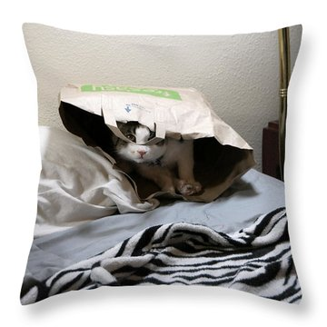 Lois's Favorite Cat Picture In The Whole Wide World Throw Pillow