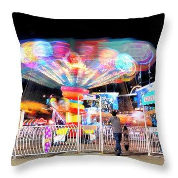 Lolipop Wheel- Throw Pillow
